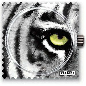 S.T.A.M.P.S. - Uhrenmotiv wasserdicht ''Eye Of The Tiger''