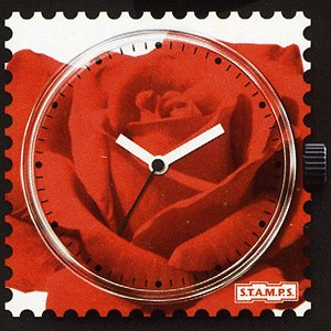 S.T.A.M.P.S. - Uhrenmotiv Rose-scented