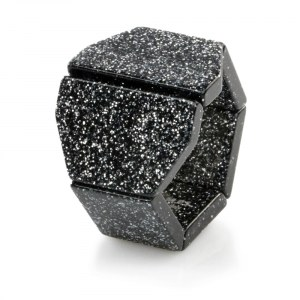 S.T.A.M.P.S. - Armband Belta Y Glitter Silver