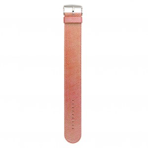 S.T.A.M.P.S. - Armband Pearl Leather Pink
